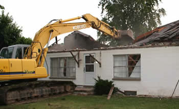 Cleveland, OH house demolition company